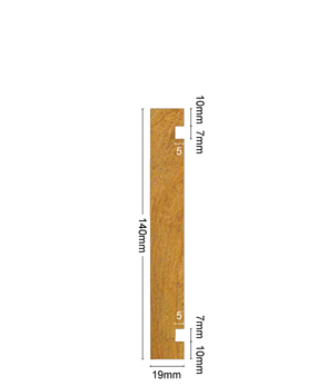Board & Batten 140mm x 19mm