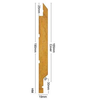 Weatherboards Vertical Shiplap VS5